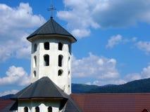 Monastery view horizontal Stock Image