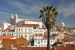 Monastery view lisbon Stock Photos