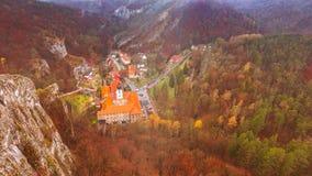 Village Svaty Jan pod Skalou royalty free stock photo
