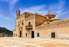Monastery Virgin Del Saliente Stock Images