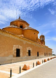 Monastery Virgin Del Saliente Royalty Free Stock Photo
