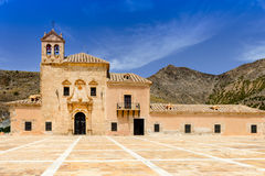 Monastery Virgin Del Saliente Royalty Free Stock Photos