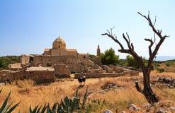 Monastery of Virgin Skopiotissas royalty free stock photography