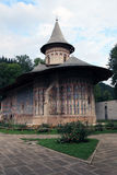 The monastery Voronet. The convent Voronet in the east of Romania Stock Photos