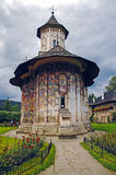 Monastery Voronet. The Monastery Voronet, Region Suceava, Romania Royalty Free Stock Images