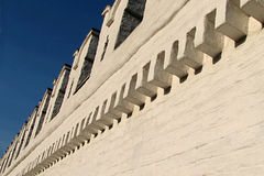 Monastery wall 2. A wall of St Daniel's monastery in Moscow Royalty Free Stock Images