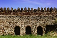 Monastery wall Stock Photography