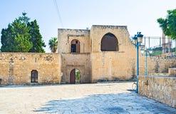 The monastery wall Royalty Free Stock Photo