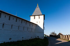 Monastery walls and towers Royalty Free Stock Photography