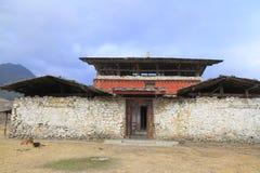 Monastery Wangdue Phodrang Royalty Free Stock Image