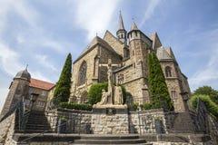 Monastery in warburg germany Royalty Free Stock Images