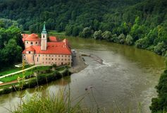 Monastery Weltenburg Royalty Free Stock Photos