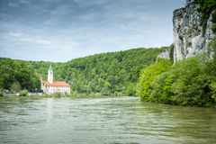 Monastery Weltenburg. An image of the beautiful monastery Weltenburg in Bavaria Germany Royalty Free Stock Photography
