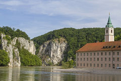 Monastery Weltenburg Stock Photography