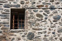 Monastery Window. Small window on the Rila Monastery in Bulgaria Stock Photo