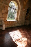 Monastery Window. In the sun Royalty Free Stock Photography