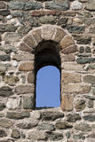 Monastery window Stock Image