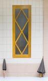 Monastery window Royalty Free Stock Image