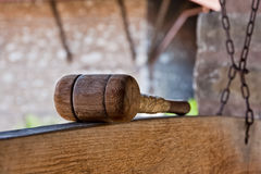 Monastery wooden percussion Royalty Free Stock Photography