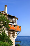 Monastery Xenofontos on Mount Athos Stock Image