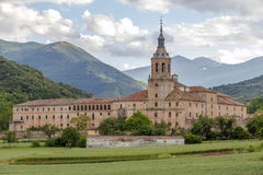 Monastery of Yuso, San Millan de la Cogolla Royalty Free Stock Images
