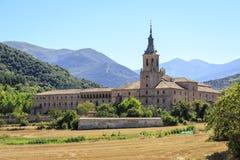 Monastery of Yuso, San Millan de la Cogolla Royalty Free Stock Image