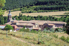 Monastery of Yuso, San Millan de la Cogolla Royalty Free Stock Photography
