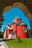 Monastery Zica Stock Photos