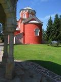 Monastery Zica. Serbian medieval  monastery Royalty Free Stock Photography