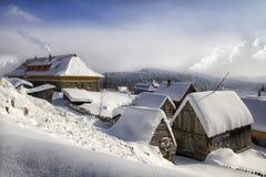 Monastery, zosin,  Romania Stock Photography