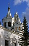 The monastery in Zvenigorod Royalty Free Stock Images