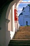 The monastery in Zvenigorod Royalty Free Stock Photography