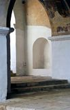 The monastery in Zvenigorod Stock Images