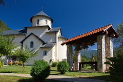 Monastic church Stock Photo
