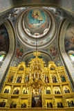 Monastic complex, Capriana. Republic of Moldova Stock Image
