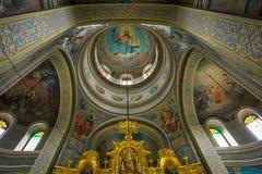 Monastic complex, Capriana. Republic of Moldova Royalty Free Stock Photo