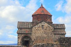 Monastic complex Sevanank in Armenia Royalty Free Stock Photo