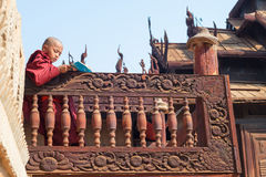 Monastic education Stock Image