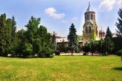 Monastic Palace at Curtea de Arges Stock Photo