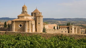 Monastic site of Poblet Stock Photos