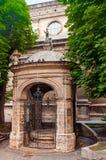 Monastic well Stock Photo