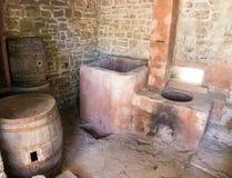 Monastic winery of Dryanovo Monastery in Bulgaria Royalty Free Stock Photo