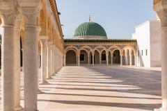 Monastir 突尼斯 2017年10月11日 哈比卜・布尔吉巴陵墓-突尼斯的第一位总统 Monastir,突尼斯 库存照片