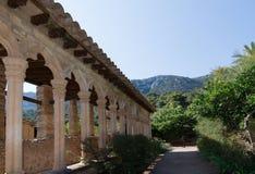 Monastir de Miramar vaults Royalty Free Stock Image