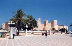Monastir fort Royalty Free Stock Photos
