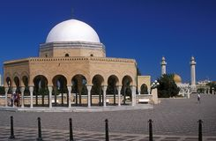 Monastir mausoleum Royalty Free Stock Photo