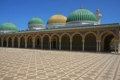 Monastir mausoleum Royalty Free Stock Image