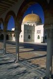 Monastir Mosque. Mausoleum/mosque in the city of Monastir, Tunisia Royalty Free Stock Images