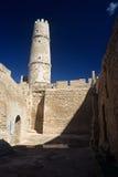 Monastir,Tunisia. Tower of the Ribat in Monastir ,Tunisia Royalty Free Stock Photo