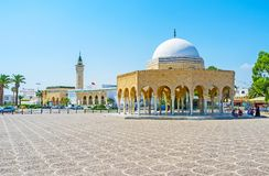 Habib Bourguiba complex in Monastir Royalty Free Stock Photography
